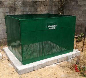 Rectangular mesh composter1